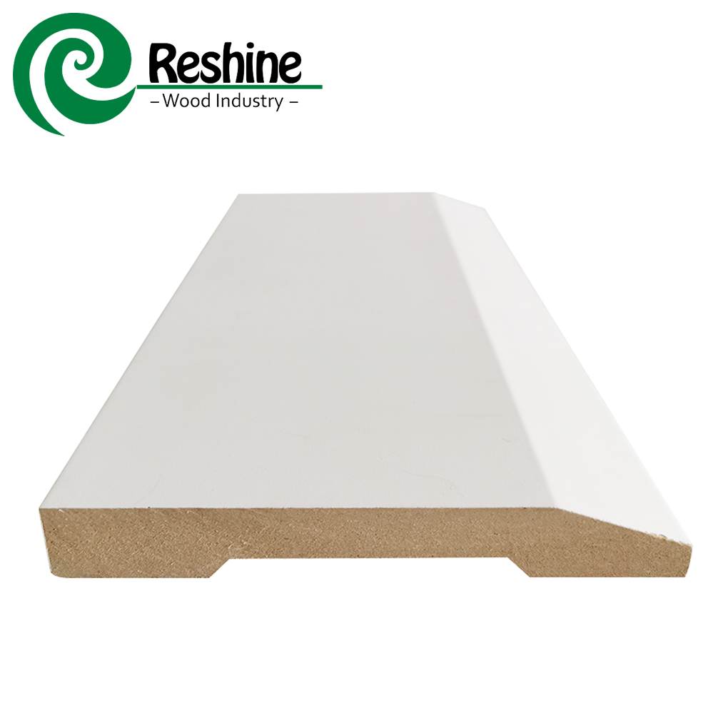 Mdf [ Wall ] Wall Moulding Primed Wall Trim Board MDF Moulding Base Skirting