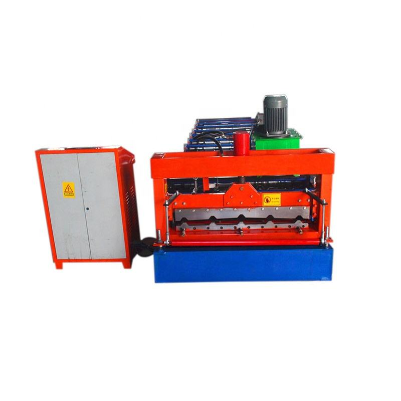 triple layered tr4 roll forming machine price in india