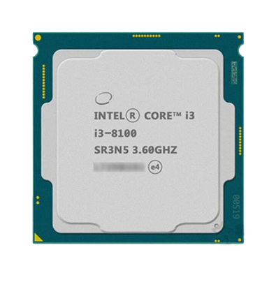 High Quality Desktop Intel LGA1151 3.9GHz Dual-Core CPU i3 7100 8100 Processor