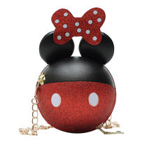 New chic Mickey mouse shape kids purses handbag purse girls wholesale mini girls handbags