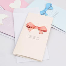 Customize 3D Greenting Card Wedding Invitation Cards Mother's Day Greeting Cards with Heart