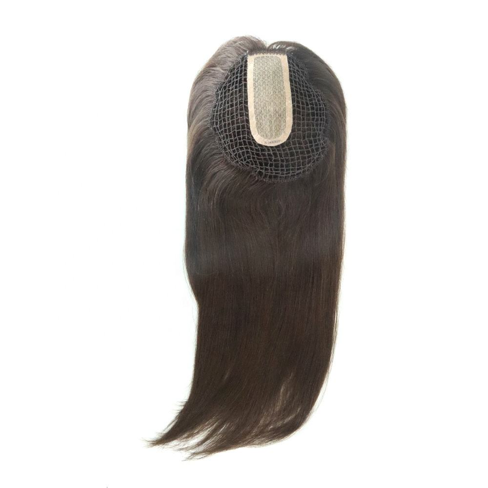 Fishnet Integration Hair Wigs Hair Piece for Lady