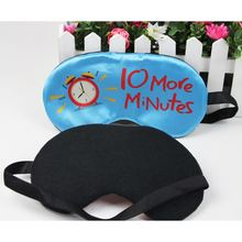 Hot Selling Night Sleeping With Digital Printing Silk Eye Mask