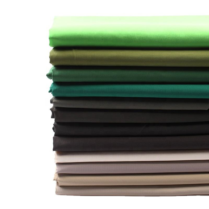 Customized color full dull 228t polyester taslan fabric