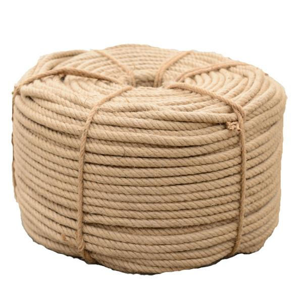 Good Quality Natural 5-60mm Best Quality Factory Bulk 6mm Jute Sisal Natural Hemp Manila Rope
