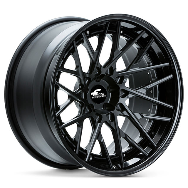 2 piece customized size forged alloy wheels for T6061 car rims