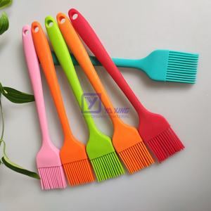 Baking Basting Silicone Brush Silicone Bbq Grilling Oil Cooking Baking Tools Basting Silicone Pastry Brush