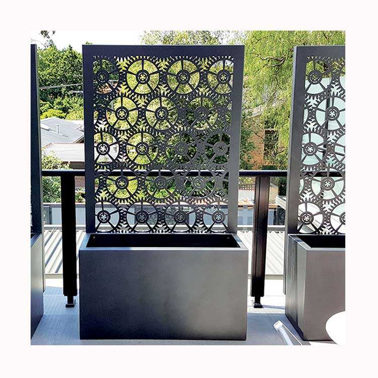 Large Outdoor Planter Garden Planters tall metal planters outdoor