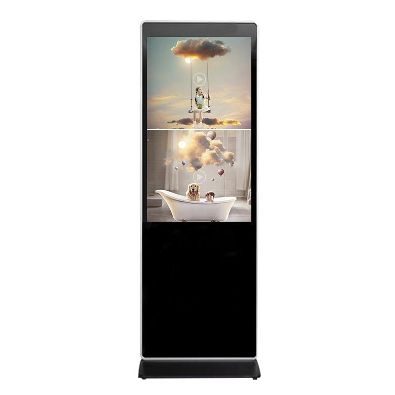 window or Android system 50 inch stand digital signage lcd advertising display for commercial places