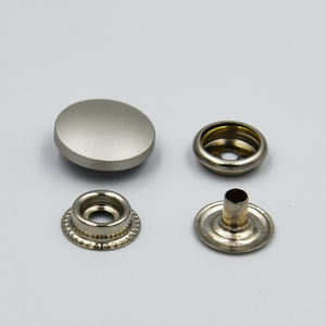 High quality metal snaps press studs 12.5mm 15mm 17mm 20mm 22mm 25mm metal snap buttons for clothing jackets
