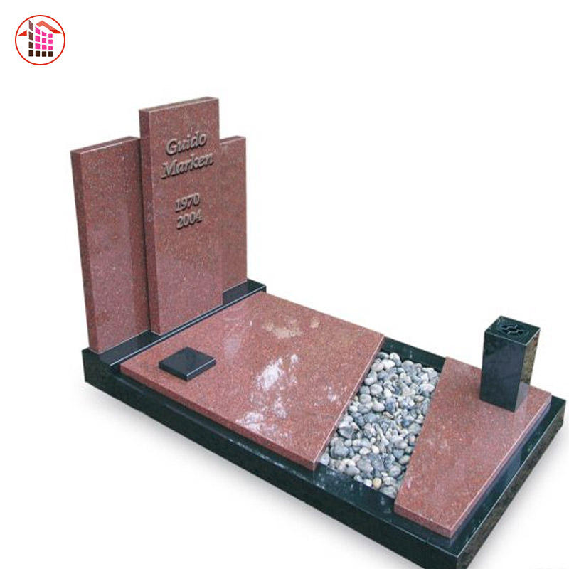 Little Lean on Granite/Marble Angel Outdoor Modern Tombstone White/Red/Black/Pink Tombstone