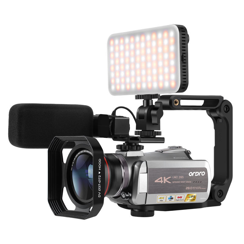 AZ50 Infrarood Nachtzicht Professionele Camcordrer Digitale 4K Uhd Wifi Ghost Video <span class=keywords><strong>Camera</strong></span>