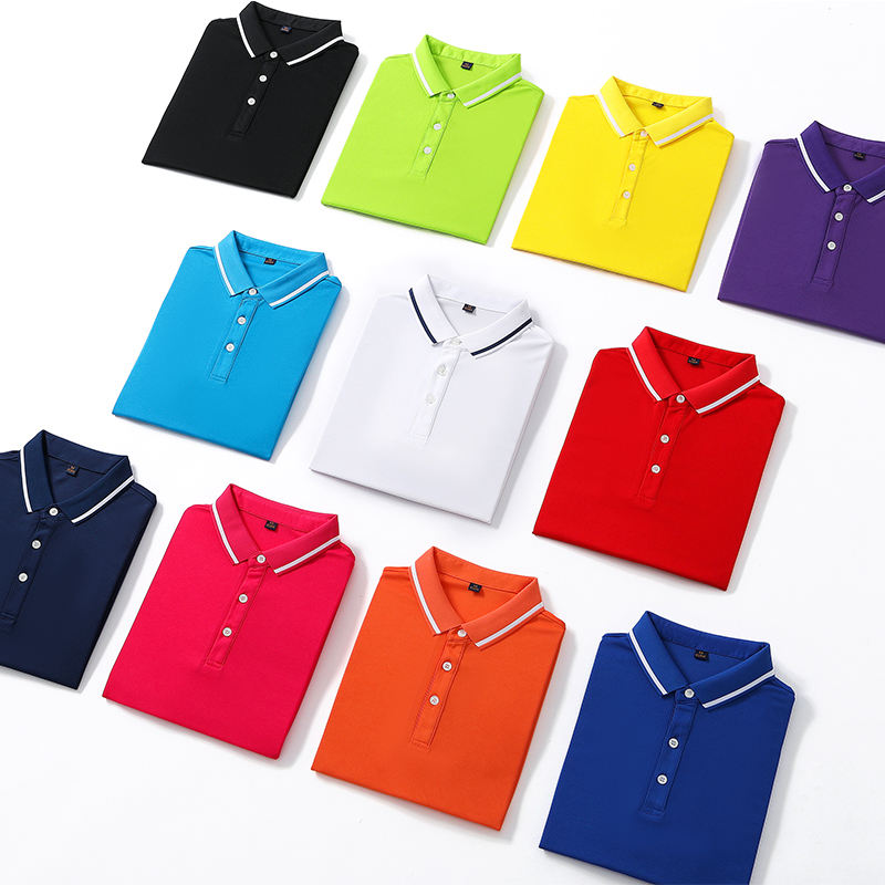 Men's Regular-fit Short Sleeve Wicking Quick-Dry Golf Polo Shirt with Uv Protection