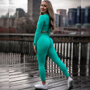 2020 New Fitness Apparel Brands Seamless Yoga Pants Praviate Label Sports Bra Leggings Womens Gym Wear Sets