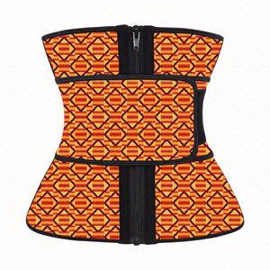 NANBIN Kente Best Sell African Custom Latex Waist Shaper Trainer Women