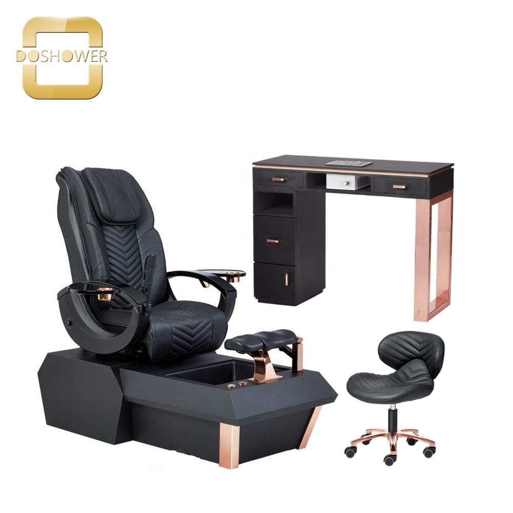 2021 new design nail salon furniture with used nail spa pedicure chair
