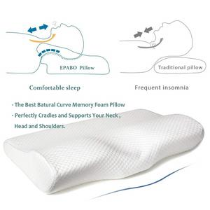 Bed Sleep Wedge Custom Contour Orthopedic Butterfly Shaped Pillows Side Sleeper Anti Snore Cervical Memory Foam Pillow
