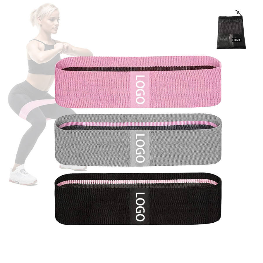 Stof Doek Custom Logo 3 Set Pack Stof <span class=keywords><strong>Weerstand</strong></span> Band Voor Yoga Exercise Fitness Gym Krachttraining Apparatuur