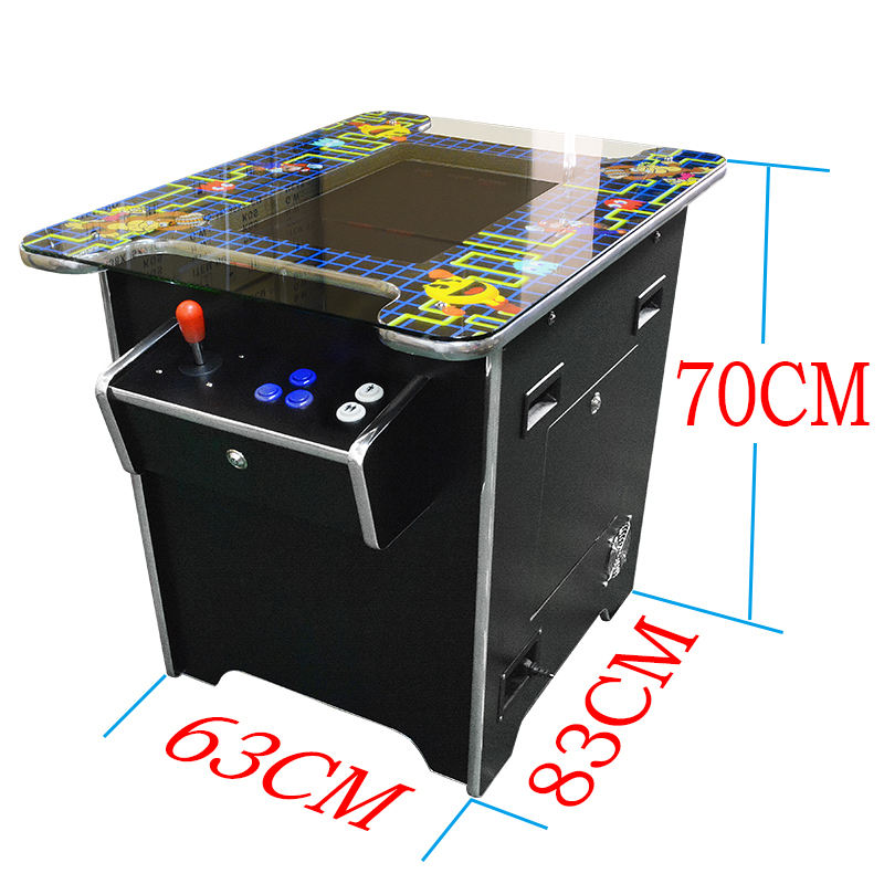 2 Player 60 in 1 Cocktail Table Arcade Games Machines Arcade Video Classical Game Machine
