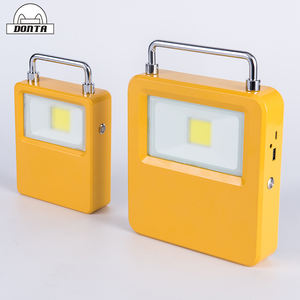 USB rechargeable solar power portable led emergency light 10W 20W 30W 50W