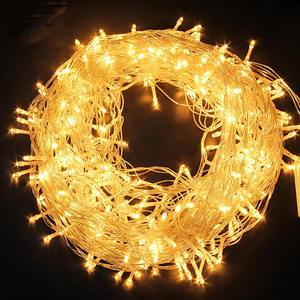 220V LED Fairy Light Christmas Outdoor String Lights Garland 20M/200LEDS Waterproof Wedding Party Tree Holiday EU Lamp