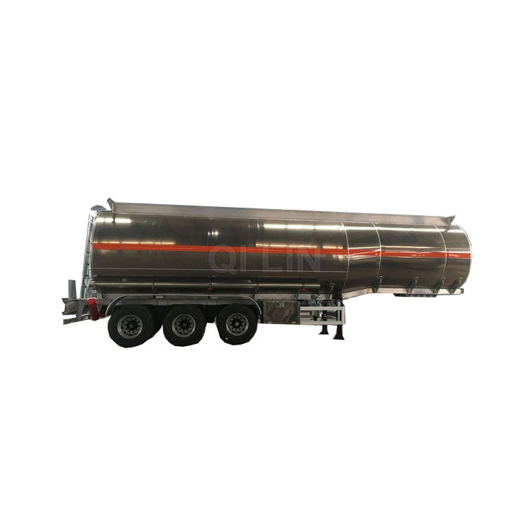 lng road tanker truck semi trailer for sale/petro delivery tanker