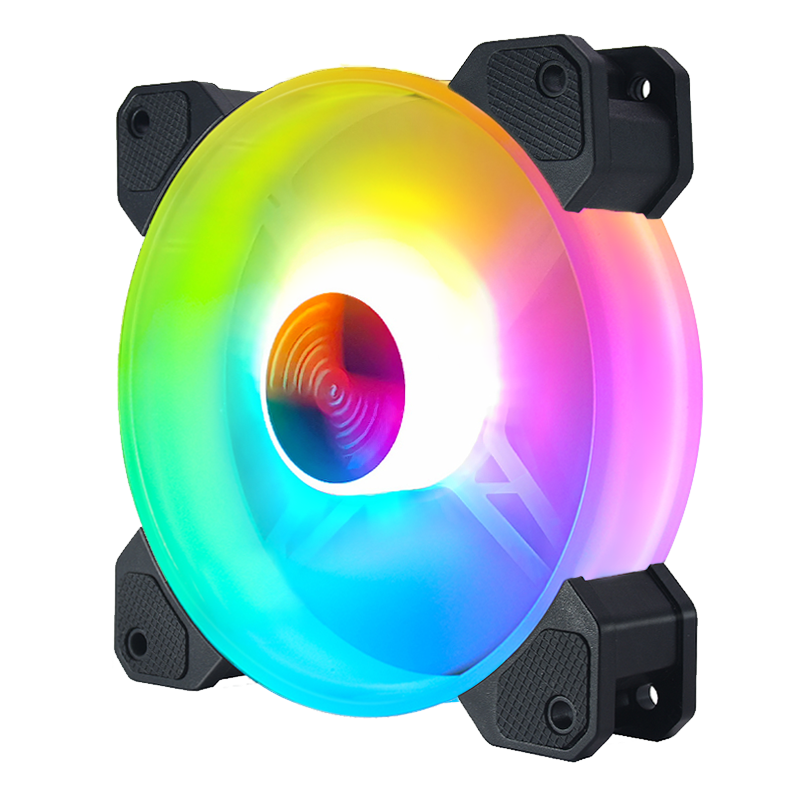 PC del dispositivo di Raffreddamento <span class=keywords><strong>Ventola</strong></span> da 120mm RGB Luce Variopinta LED PC Coolin Fan Case Del Computer Per <span class=keywords><strong>Ventola</strong></span> di Raffreddamento <span class=keywords><strong>della</strong></span> <span class=keywords><strong>CPU</strong></span> Case Del Computer