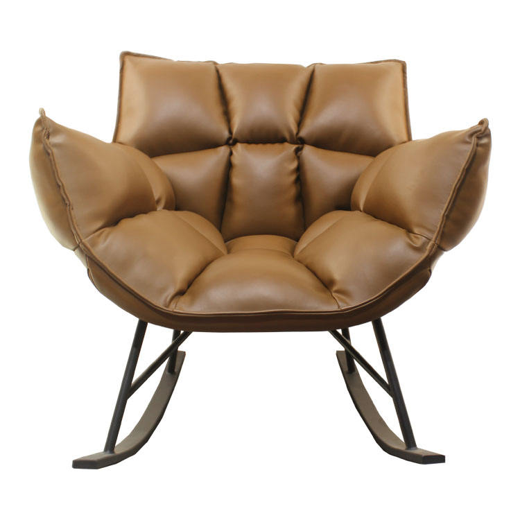 Upholstery Soft Fabric Arm Chair Living Room Bedroom Upholstered Indoor Lounge Chair