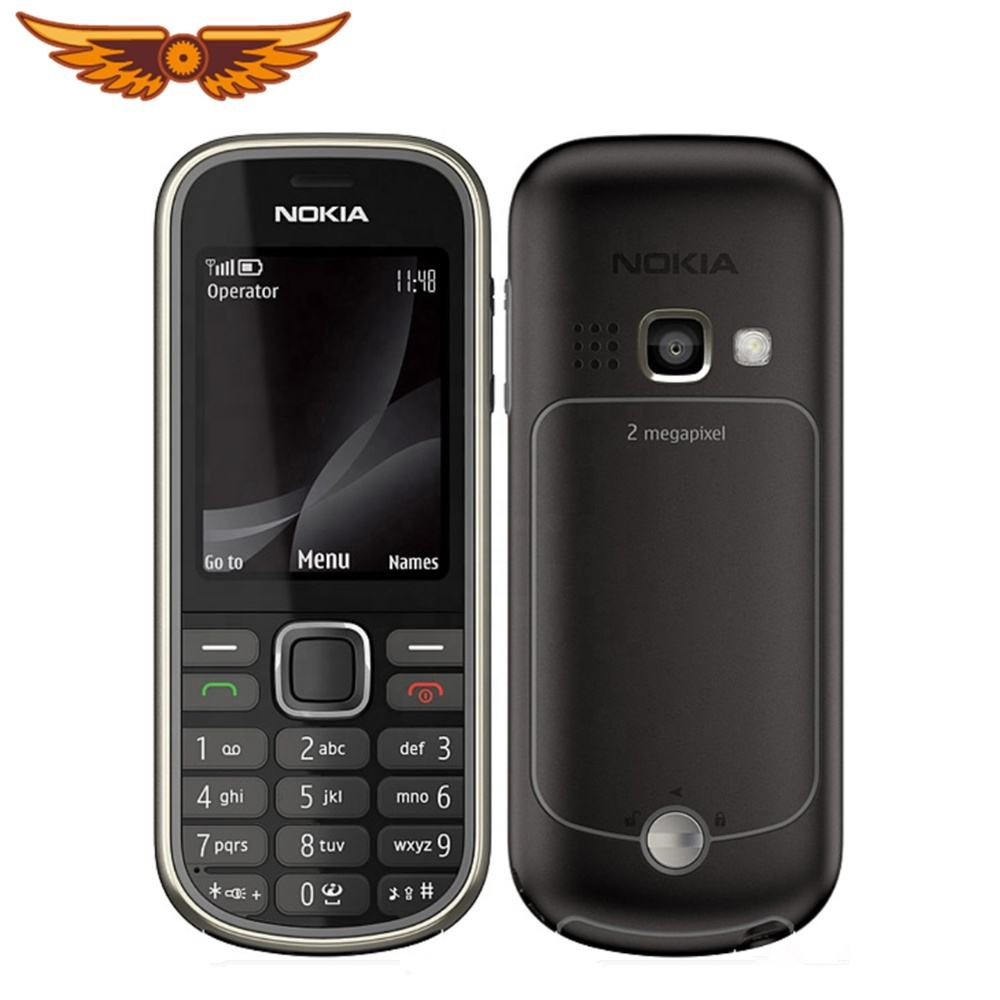 Original Nokia 3720 classic 2MP Camrea Unlocked Mobile Phone Support Russian keyboard and Polish
