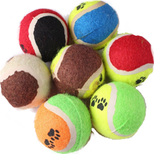 Best Selling Pet Product Stocking Training Toy  Tennis ball for dog