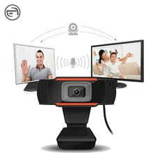 Cover Laptop 720P Con Leds 1080 4K PC Camara Web HD USB 1080P Webcam With Microphone For Laptop Computer