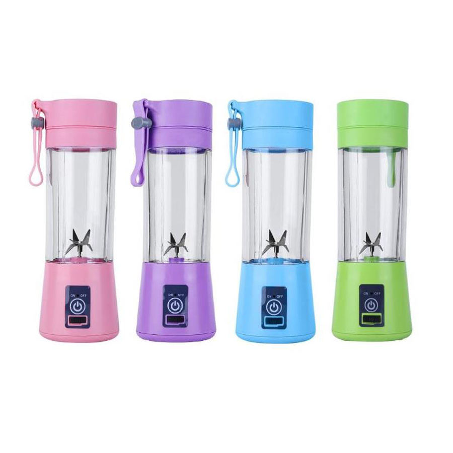 Custom logo portable baby food mini processor vitamer usb travel liquidificador juicer mixer blender