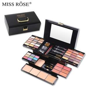 MISS ROSE 39 couleurs fard à paupières maquillage artiste trousse de maquillage blush poudre rouge à lèvres mascara ensemble de maquillage complet miss rose kit de maquillage