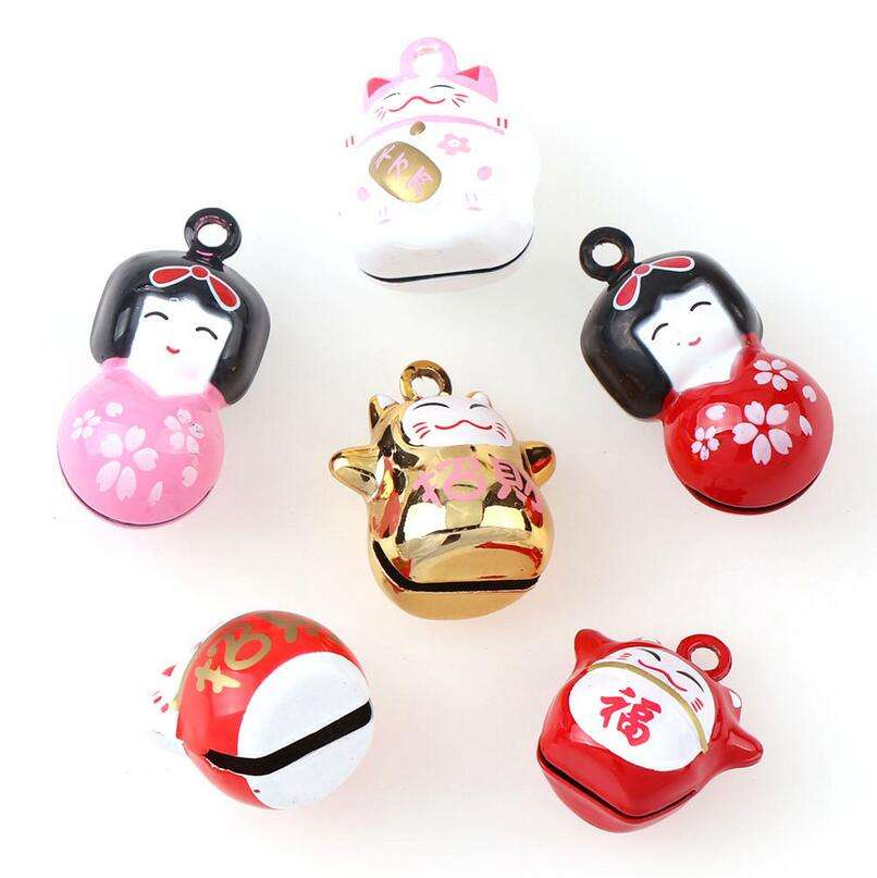 Hand Painted Jingle Bells Animal And Fruit Shape Bell