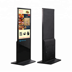 Super Slim Interactive Indoor Advertising Display Android LCD Touch Screen Kiosk