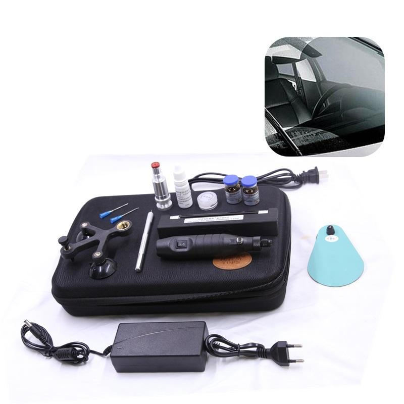 Allplace Windshield Repair Kit with Windshield Repair Resin fix auto glass windshield crack chip