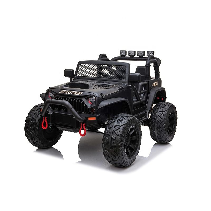 Wholesale Kids Jeep Cars Off Road Remote Control Two seater Electric car