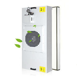 Class 100 clean room laminar flow hepa ceiling type industrial air purifier ffu with group controller