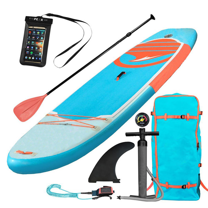 Team surfen soft hot koop opblaasbare SUP surfplank bedrukking drop steek opblaasbare sup boards