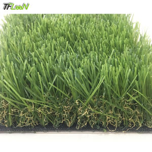 Long landscaping artificial grass turf four colors synthetic lawn for commercial landscape