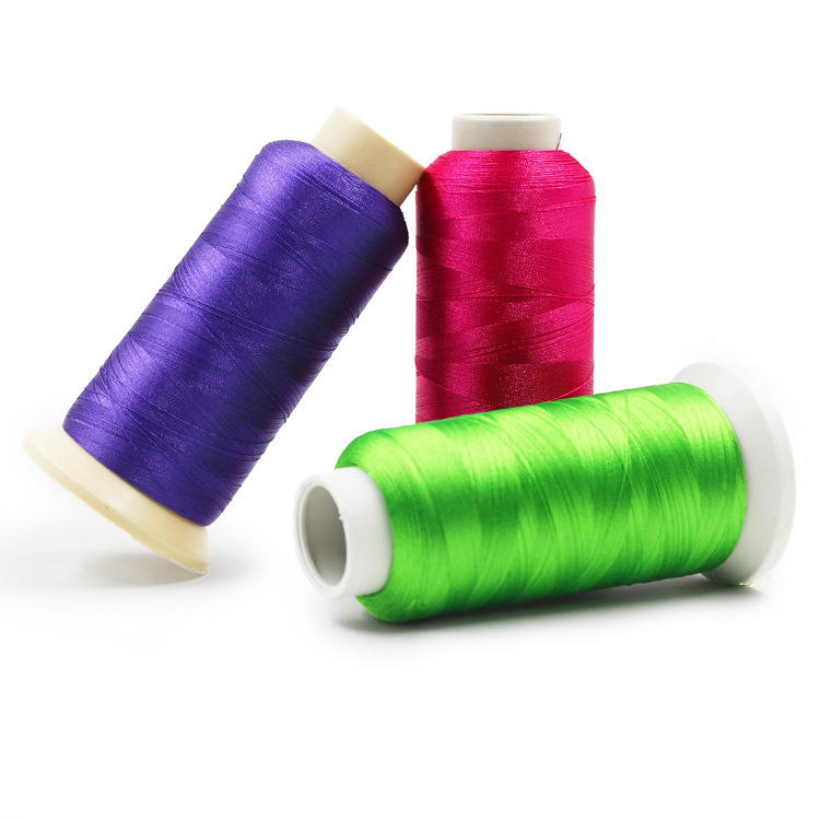 Brand New Manufacturer 100% Polyester Sewing Machine Embroidery Thread