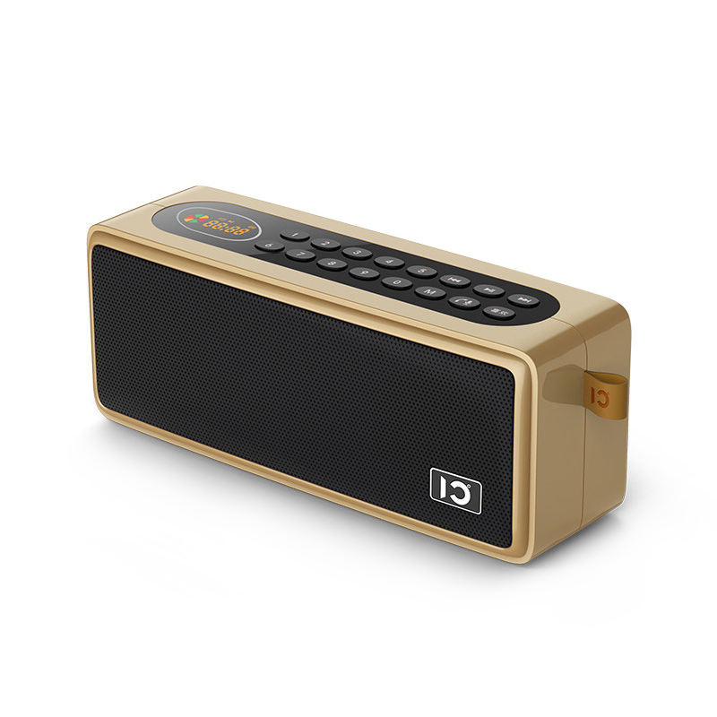 SHIDU SD-S208 TOP Rated Bluetooth 5.0 TF USB Flash Drive Digital Key Select Song Portable Speaker