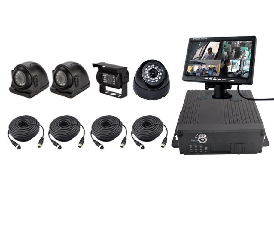 4CH 720P Mobile DVR Support 3G 4G WiFi GPS MDVR KITS with SD card Car/Bus/Truck/Vehicles Camera Recorder Waterproof