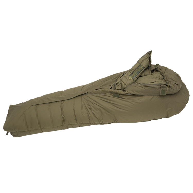 High Quality 320T Ripstop Nylon Winter Army Sleeping Bag With Duck Goose Down