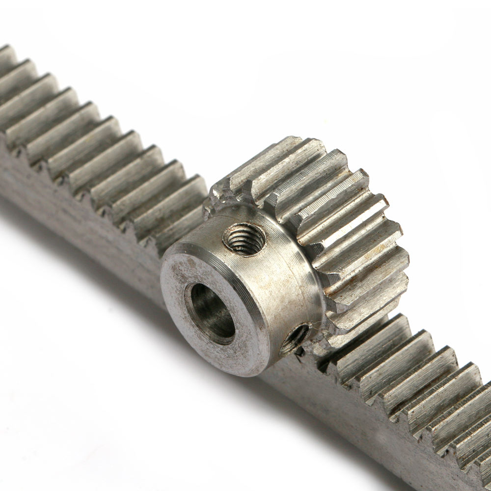 High grade good quality CNC M1 10*10*1000mm helical and straight gear rack and pinion