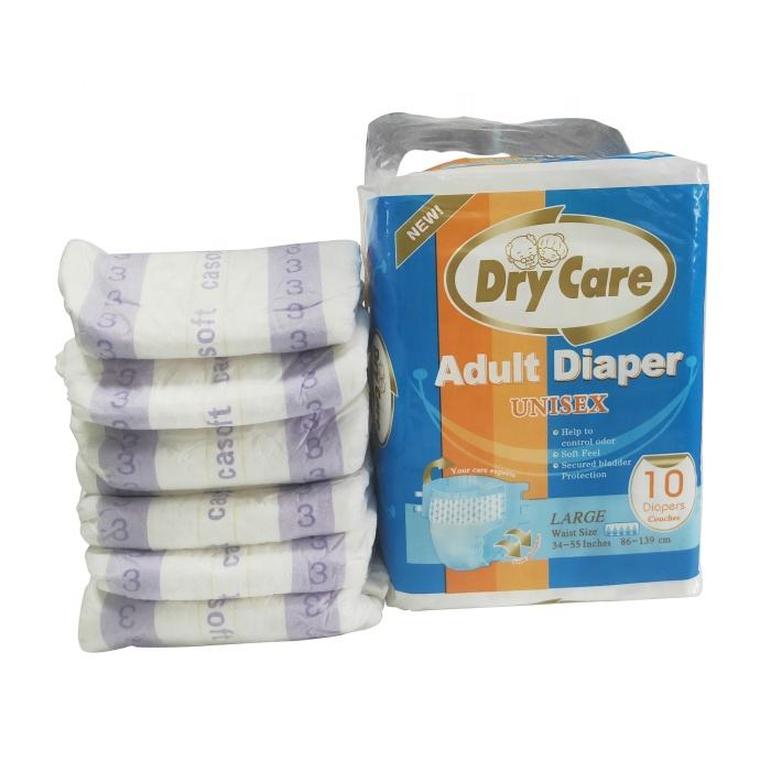 Free sample of adult diapers ultra thick high absorption abdl adult diaper