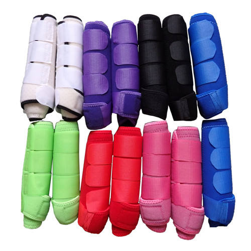 Durable Horse Leg Wraps for Horse Riding Care Equestrian Safety Neoprene Horse Protection Tendon Boots