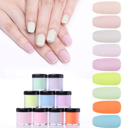 Private Label 10ml Dipping Nail Powder Factory Manufacturer 284 Colors Dip System Nail Powder