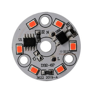 High Quality ALZ series 3W 220V Red round led down lamp china led light circuit board aluminum led pcb