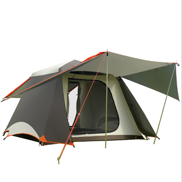 Outdoor 12 Person 3 Room Luxury family Camping Tent